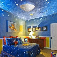 22 Space Themed Room Design Ideas For A New Atmosphere In Your Home Part 52