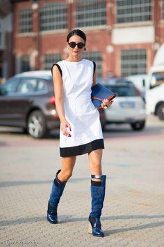 those boots rock. Milan.
