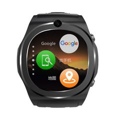 Smart Watch Fitness Tracker Depometer GPS Watch with SIM card Bluetooth Phone Call Message Reminder for IOS Android (Black). This watch phone works on 2G+3G networks: GSM 850/900/1800/1900MHz, WCDMA 850/2100MHz. Supports WiFi, can directly make phone call, browser internet, use facebook, whatsapp, stock, etc, keeps you online all time. Health Tracker: Pedometer,record your sports data, easy to have a healthy life. Phone function: make calls directly on the watch, ringtone options…