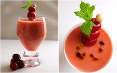 Bocados dulces y salados: Gazpacho de cerezas