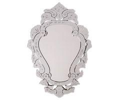 Espelho Veneziano Decorativo Retro Vintage Bisotado Antigo - R$ 779,00 em Mercado Livre