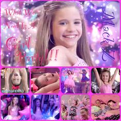 """Dance Moms edit of Mack Z's (Mackenzie's) music video, """"Girl Party"""". Credit goes to @hahaH0ll13. Please keep credit on these edits."""