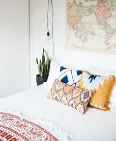 Interieurinspiratie: kilim is het 'nieuwe Perzische tapijt' en wij zijn helemaal…
