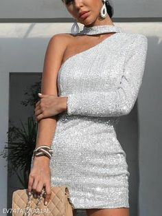 Description Product Name Fashion sexy shiny asymmetric strapless evening dress Brand Gogroov SKU Material Polyester Elegant Dresses, Cute Dresses, Beautiful Dresses, Short Dresses, Short Evening Dresses, Mini Dresses, Silver Evening Dresses, Simple Dresses, Casual Dresses