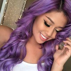 This purple is gorgeous!  www.EssenceSalon.com (650) 988-8822 826 West Dana Street Mountain View, CA 94041