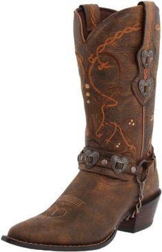 Durango Women's Crush Cowgirl Boot Saddle Brown W/Tan & Brown Boot 9 B - Medium Durango http://www.amazon.com/dp/B0037KGLNK/ref=cm_sw_r_pi_dp_Bj7-ub1N0R3ZD