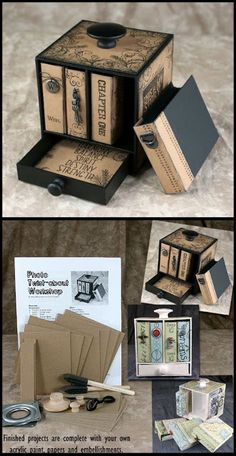 APeeling Paper Crafts: Club Scrap Garden Shed Artist Team Challenge-wooden elements