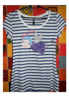 triko veľkosť ,,XS,, originál maľba kvalitnými textilnými farbami Gallery, Mens Tops, T Shirt, Shopping, Fashion, Supreme T Shirt, Moda, Tee Shirt, Roof Rack