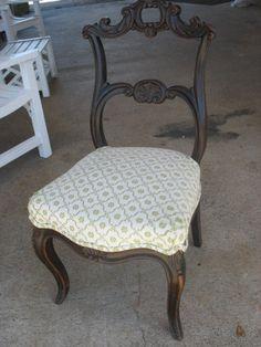 Victorian Era Rococo Revival Side Chair Mahogany RARE   eBay. Need 6-8 for dining table.