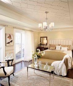 French Traditional Glam Decor On Pinterest French White Bedrooms And Bedroom Designs