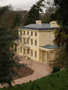 Agatha Christie's summer house near #Dartmouth.Greenway House