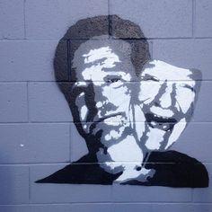 Robin Williams street art in Los Angeles, CA