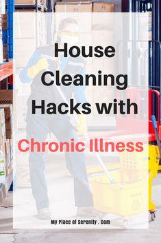House Cleaning Hacks for Chronic Illness Chronic Fatigue Syndrome, Chronic Illness, Chronic Pain, House Cleaning Tips, Cleaning Hacks, Rheumatoid Arthritis, Endometriosis, Invisible Illness, Autoimmune Disease