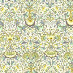 Liberty of London Fabric Lodden B Green Fat by Alicecarolinesupply, $8.75