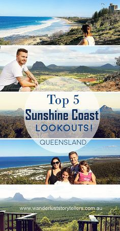 The top 5 Sunshine Coast Lookouts! A perfect addition to your list of things to do whilst visiting the beautiful Sunshine Coast in Queensland Australia. Coast Australia, Queensland Australia, Western Australia, Australia 2018, Australia Tours, Brisbane Queensland, Visit Australia, Travel With Kids, Family Travel