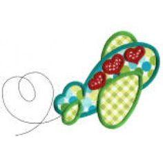 ZDBJJ575-2 Hearts Aplenty Applique-Single