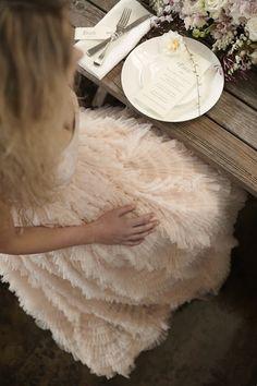 Elizabeth Day Tea Blush Gown