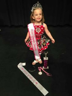 National Pageant Casual Wear Winner!  Facebook: Paulina's Pageant Designs