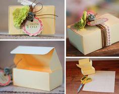 Wedding Blog - DIY Favour Boxes | Wedding Favour Ideas