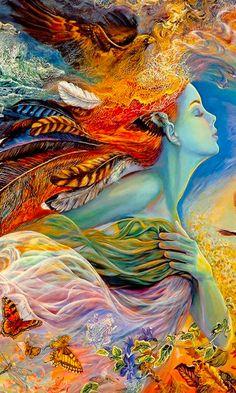 Fantasy Paintings, Fantasy Artwork, Inspiration Artistique, Easy Canvas Art, Spirited Art, Beautiful Fantasy Art, Goddess Art, Fantasy Kunst, Visionary Art