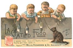 Wells, Richardson & Co. lactated food