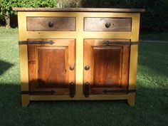 French Country Cupboard  Handmade with by ArcadianCottage on Etsy