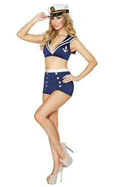 Sexy Pin Up Two Piece Sailor Girl Halloween Costume Musotica http://www.amazon.com/dp/B00N1RICDG/ref=cm_sw_r_pi_dp_Iilcub1PZJBF1