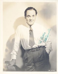 Leo Carrillo Although He Played Stereotypical Latinos Was Part Of An Old