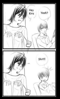 Death Note -- L, finding Kira like a boss xD LOL. Probably this is my favourite Death Note meme :) Death Note Meme, Death Note Quotes, Death Note デスノート, Anime Like Death Note, Death Note Light, Otaku Anime, Manga Anime, Film Anime, Dead Note
