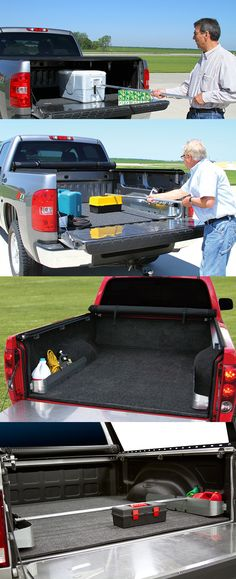 An ACCESS™ EZ-RETRIEVER® Cargo Reaching Tool helps easily reach cargo in the front of your truck bed. Create valuable storage out of wasted space with ACCESS® Truck Bed Pockets. These accessories work together to keep cargo in place.