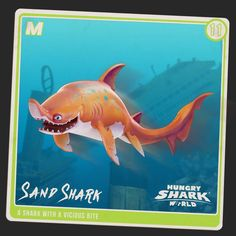 Tell him about it... Stud. As this shark is just oh so Sandy. Your #Shararium collection is nearly complete!