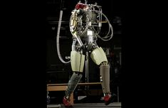 Boston Dynamics humanoid robot that can do push ups, jumping jacks, and recover from being shoved.