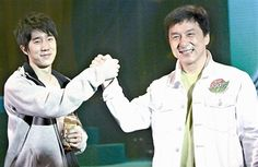 """Jackie Chan promised to spend more time with his son, Jaycee Chan, after his release from prison. """"I want to let him know how much I care about him."""""""