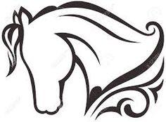 Resultado de imagen para silueta de caballos y unicornios