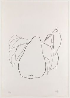 "littledidiknow: "" Ellsworth Kelly, Pear III, 1966 """
