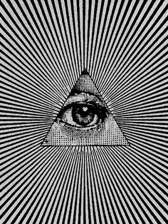 All seeing eye-Girl With A Surfboard