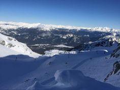 Skigebiet Whistler Blackcomb in British Columbia nördlich von Vancouver Whistler, Canada Travel, British Columbia, Vancouver, Mount Everest, Mountains, Nature, North America, Naturaleza