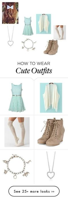 """Caroline Matthews Outfit #2"" by amazingness-of-fashion on Polyvore featuring Glamorous, Daytrip and Tiffany & Co."