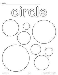 Circle coloring pages circle shape coloring page free toddler preschool shapes coloring pages includes a circle Shape Coloring Pages, Coloring Pages For Kids, Preschool Coloring Pages, Coloring Sheets, Coloring Book, Colouring, Preschool Worksheets, Preschool Activities, Preschool Shapes