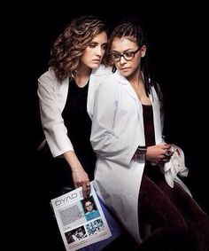 Cosima and Delphine Orphan Black