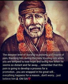 Sai Baba Miracles, Sai Baba Pictures, Sai Baba Quotes, Sai Baba Wallpapers, Baba Image, Devotional Quotes, Om Sai Ram, Peaceful Life, Hindu Deities