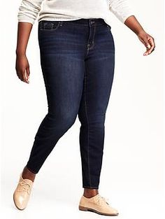 Old Navy-Womens Plus Mid-Rise Rockstar Jeans