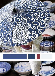Blue and white - japan