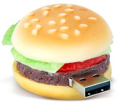 Hamburger USB drive
