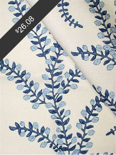 John Robshaw Prasana Bluebell for only $26.08 at HouseFabric.com