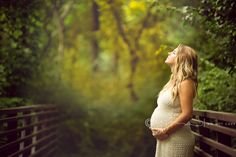 maternity bridge dreamy classical timeless modest woods creek natural -1