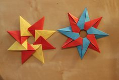Hello! Tutorial #5 is one from a well-known origami designer: Maria Sinayskaya! She kindly gave me permission to show this great origami modular 'Tico' star....
