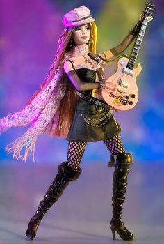 Hard Rock Cafe Barbie® Doll #2 | Barbie Collector
