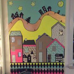 Et stort maleri til stuen