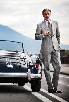 Gentleman style 551479916850269267 - British Style — gentlemansessentials: Style I Gentleman's… Source by granttietjen Style Gentleman, Dapper Gentleman, Gentleman Fashion, Sharp Dressed Man, Well Dressed Men, Style Dandy, Windowpane Suit, Plaid Suit, Classic Men